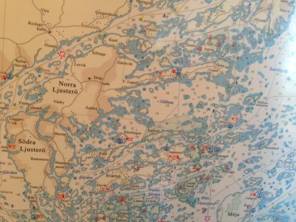 """Inte lätt att hitta rätt alla gånger! Skönt att kika på en """"riktig"""" karta ibland!"""