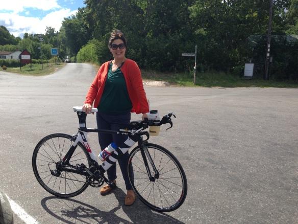 Ann provade en tur på Cervélon!