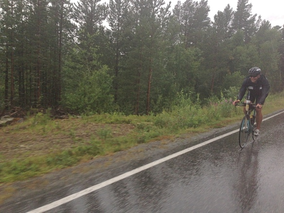 Regn, regn och regn. Det var rätt gött att sitta i bilen just då!