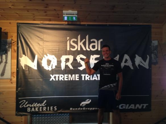 GRATTIS ÄLSKLING!!! Norseman 2013 och en svart t-shirt
