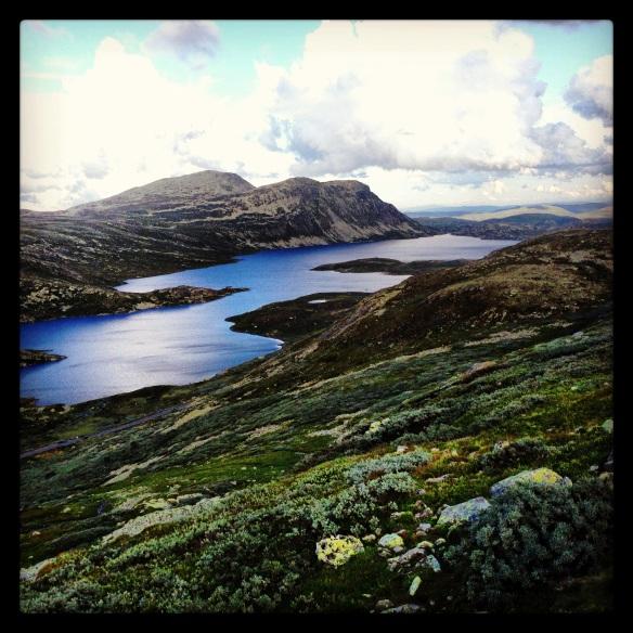 Vad säger man? Norge vilket landskap! Bilden tagen på vägen upp till Gaustatoppen! Finner inga ord!