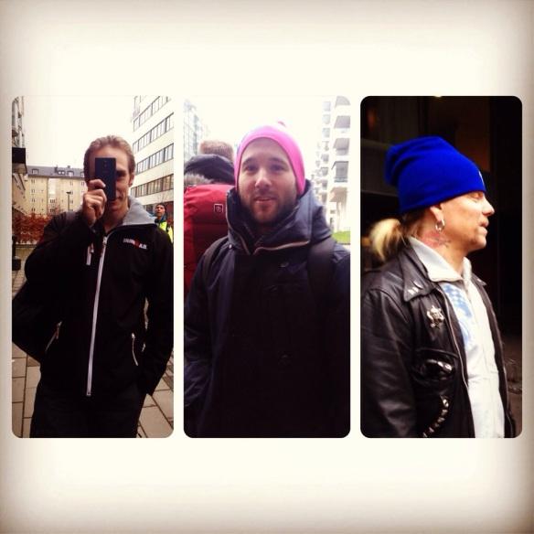 Tre legender man gärna vill ha med på ett träningspass: Kingen Arne, Tobbe Trollkarl och Putte from Hell - vilket härligt gäng!!!