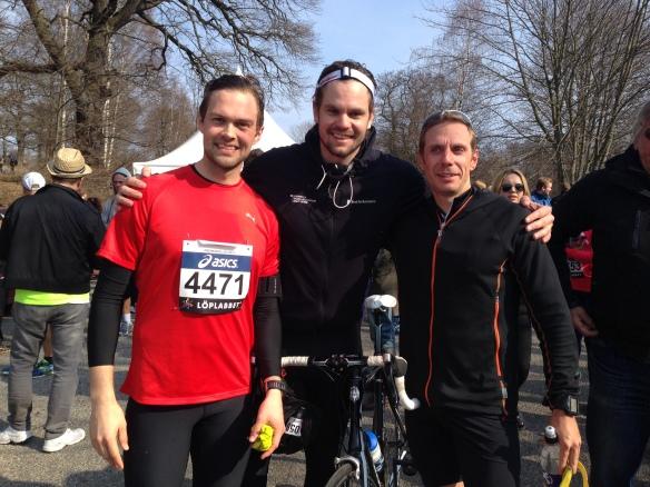 Johan, Axel och Rikard!