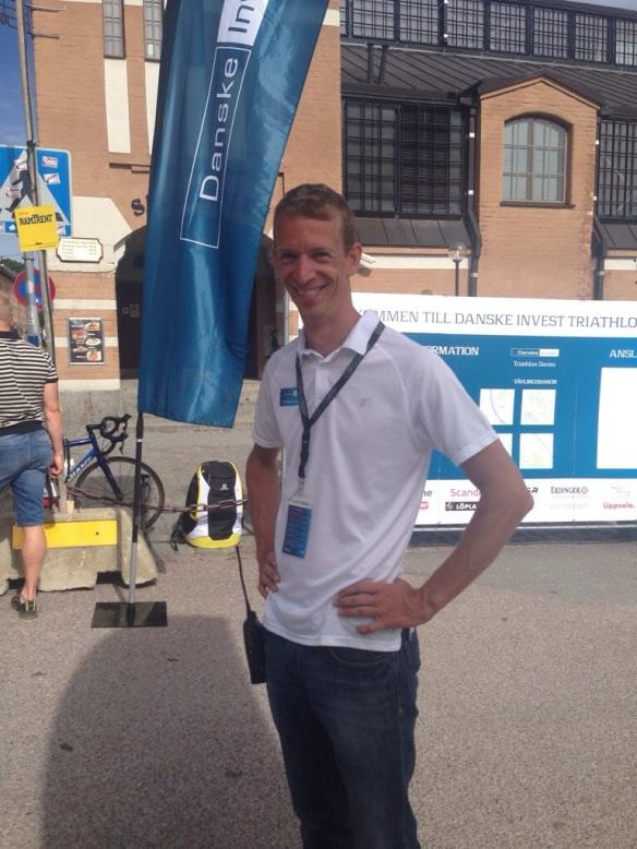 Träffade på Mattias Sjöberg från Triathlonförbundet
