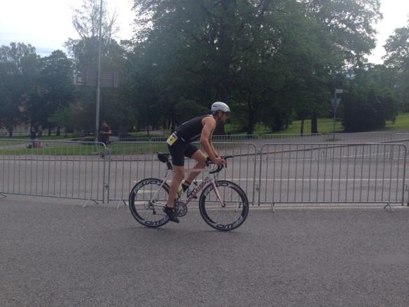 Johan var stark uppför. Det är bra inför Ironman Nice om några veckor.