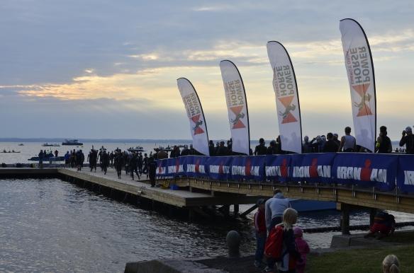 Som alltid - en magisk morgon vid simstarten i Kalmar! Här 2013