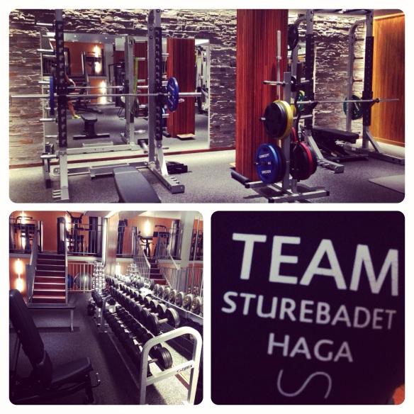 Sturebadet Haga! Nyrenoverat och gymmet bjuder skön träningsmiljö