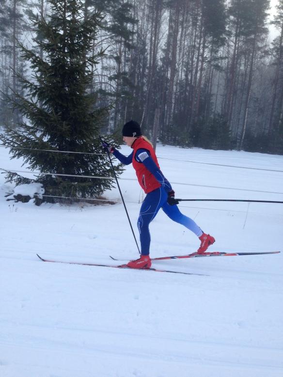 Räknar med att få in många mil på skidorna innan Vasaloppet 2015
