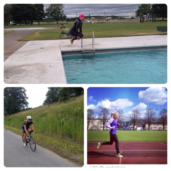 Vill simma, vill springa, vill cykla! Vill, vill, vill!!!