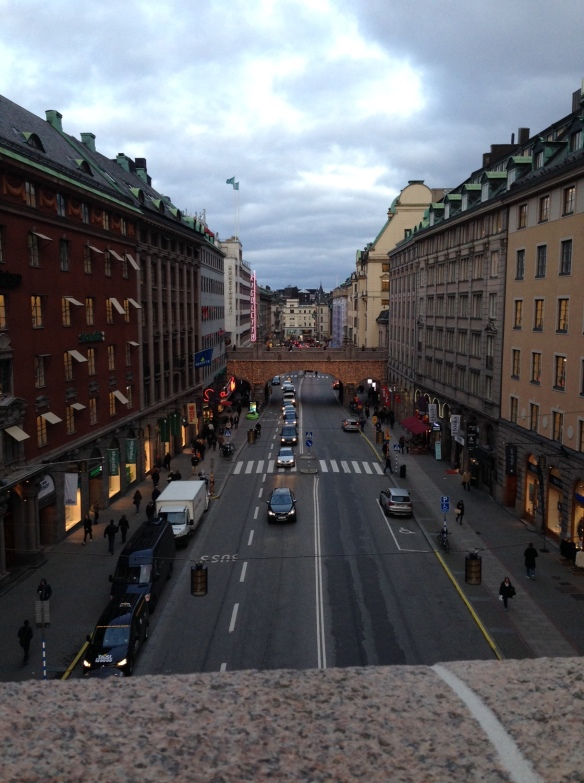 Stockholm i onsdags