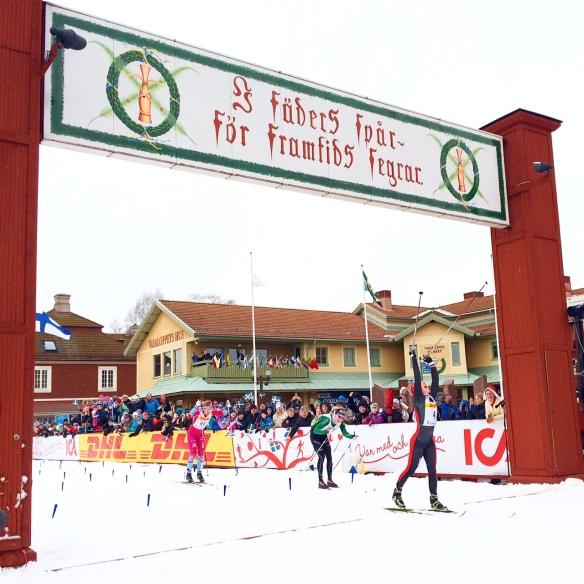 Norsk seger i tjejvasan