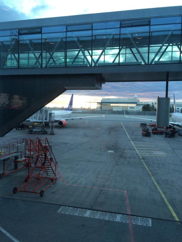 Arla morgonstund på Arlanda!