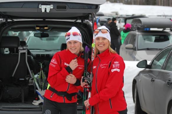 Sanna Hallberg och jag.