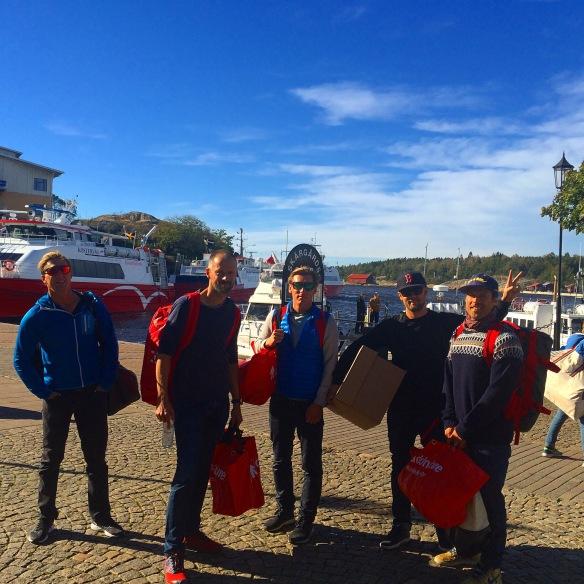 David, Klas, Daniel, Calle och Sverre! Vilken liga alltså :)