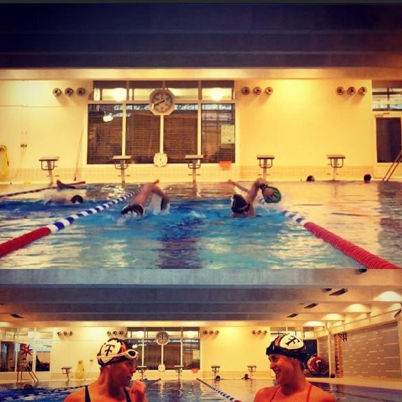 Simning på Kronoberg med Erika Rosenbaum