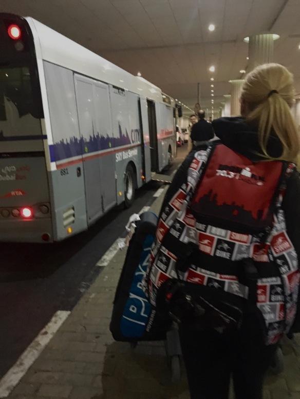 Vår egen privatchartrade buss! :)